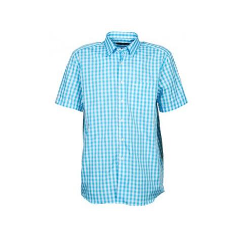 Pierre Cardin 539236202-140 men's Short sleeved Shirt in Blue