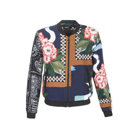 Desigual CASSIDY women's Jacket in Multicolour