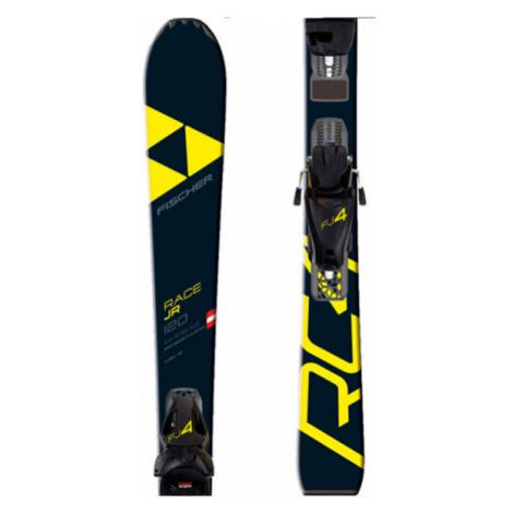 Fischer RC4 RACE JR.+FJ4 SLR - Kids' downhill skis