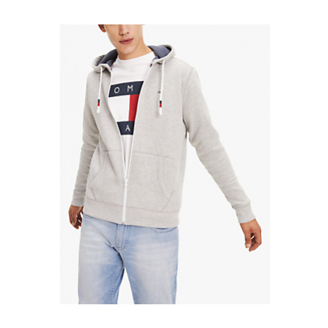 Tommy Jeans Flag Logo Zip Through Hoodie Tommy Hilfiger