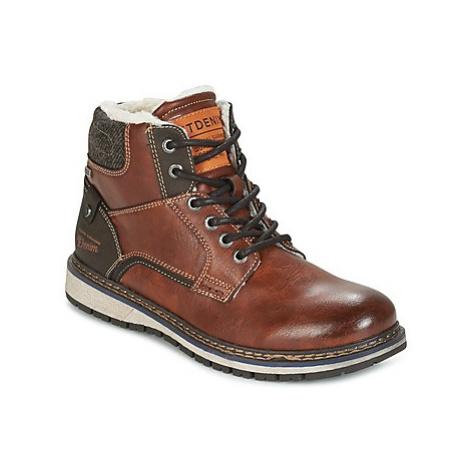 Tom Tailor LORENZA men's Mid Boots in Brown
