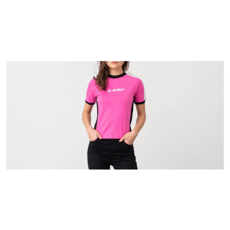 Lazy Oaf Lazy Sports Ringer Tee Pink