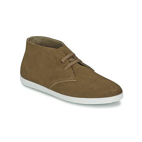 Yurban PERTU women's Shoes (High-top Trainers) in Brown