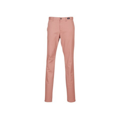 Tommy Hilfiger BLEECKER-CHINO-STR-PIMA-CTN men's Trousers in Pink