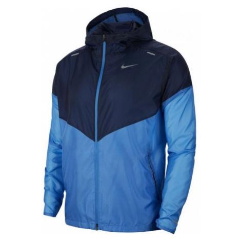 Nike WINDRUNNER JKT M blue - Men's running jacket