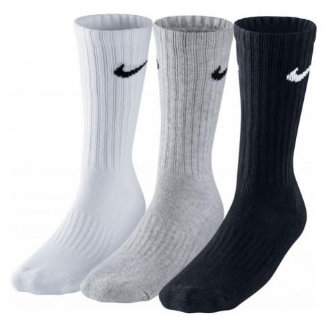 Nike 3PPK VALUE COTTON CREW gray - Sports socks