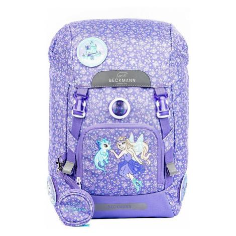 backpack Beckmann Alva 22 - Butterfly/Purple - girl´s
