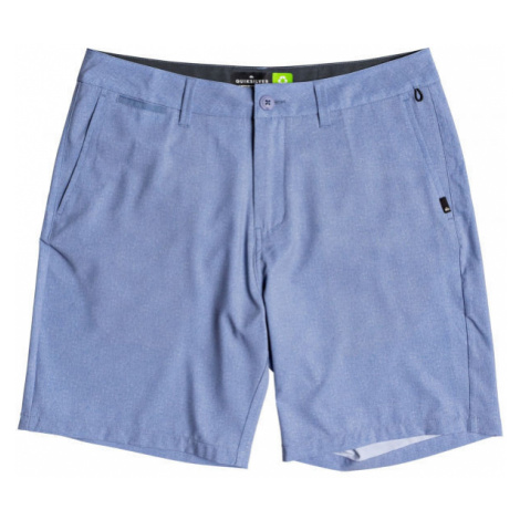 Quiksilver UNION HEATHER AMPHIBIAN 19 blue - Men's shorts