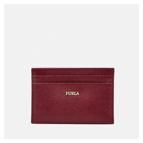 Furla Women's Babylon Small Credit Card Case - Red