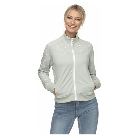 sweatshirt Ragwear Freja Zip - 5036/Dusty Green - women´s