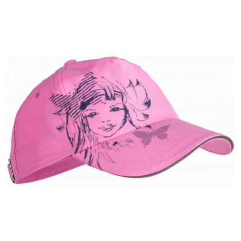 Lewro VILA orange - Girls' baseball cap