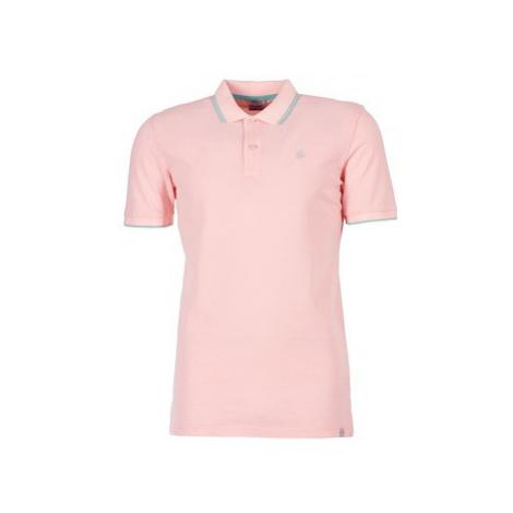 Jack Jones JORFORNIA men's Polo shirt in Pink Jack & Jones