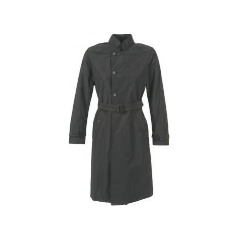 G-Star Raw MINOR LOOSE women's Trench Coat in Black