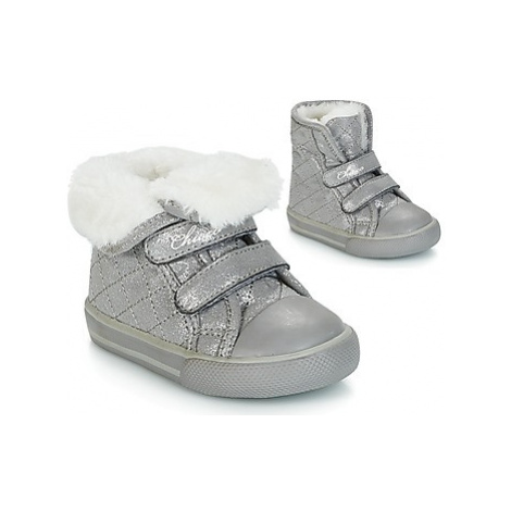 Chicco GEMMA girls's Children's Shoes (High-top Trainers) in Grey