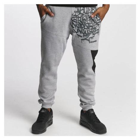 Dangerous DNGRS / Sweat Pant AlphaMark in gray