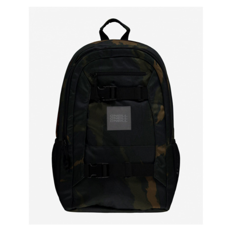O'Neill Boarder Backpack Black Green