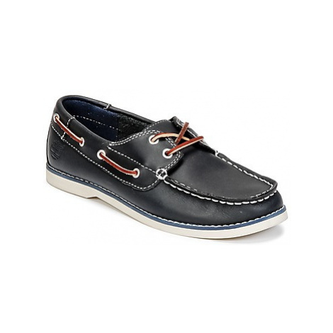 Timberland SEABURY CLASSIC 2EYE BOAT girls's Children's Boat Shoes in Blue