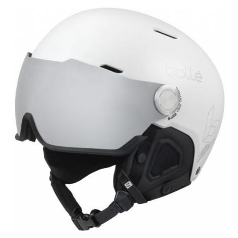 Bolle MIGHT VISOR white - Downhill helmet with visor