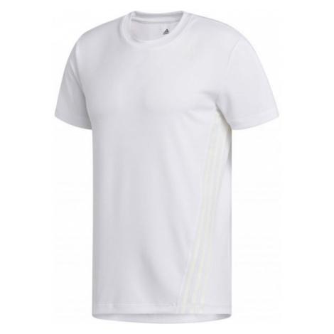 adidas AEROREADY 3S TEE white - Men's sports T-shirt