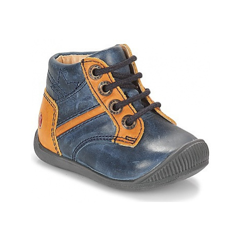 GBB RATON boys's Children's Shoes (High-top Trainers) in Blue