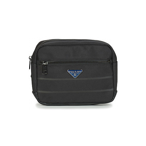 Serge Blanco GOLDEN EAGLE men's Hip bag in Black