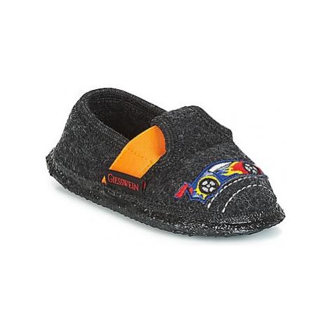 Giesswein TWEDT boys's Children's Slippers in Grey