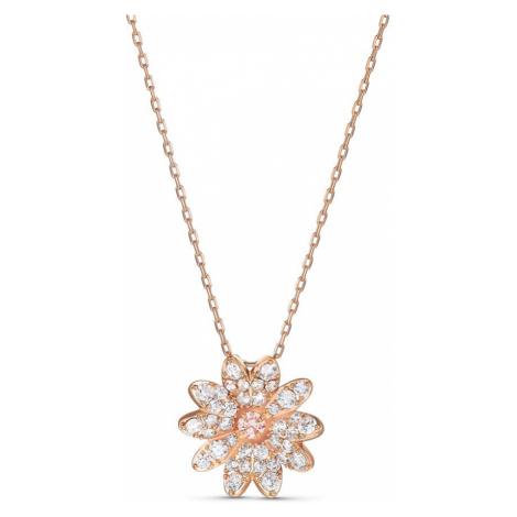 Swarovski Eternal Flower Rose Gold Plated Necklace