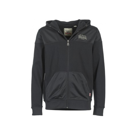 Lonsdale GREAT MONGEHAM men's Sweatshirt in Black