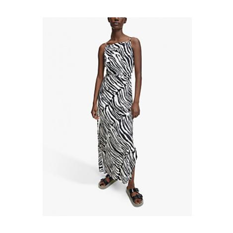 Calvin Klein Zebra Print Cami Dress, Zebra/Black/White