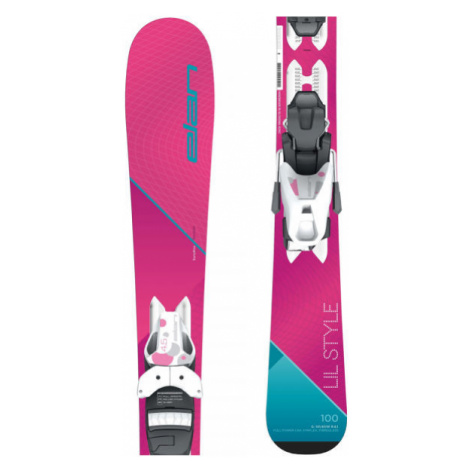 Elan LIL STYLE QS + EL 7.5 - Girls' downhill skis