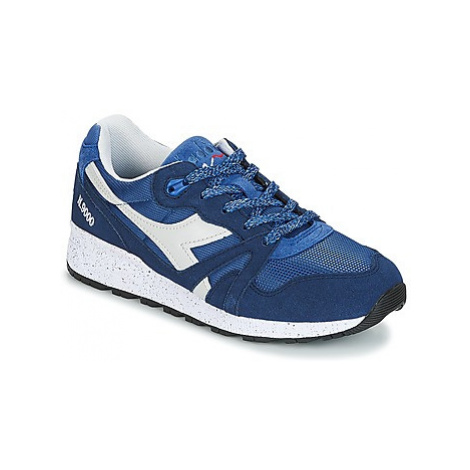 Diadora N9000 SPECKLED men's Shoes (Trainers) in Blue