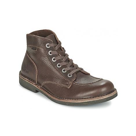 Kickers KICKSTONER men's Mid Boots in Brown