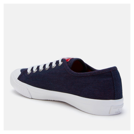Superdry Women's Low Pro 2.0 Trainers - Red Denim - UK