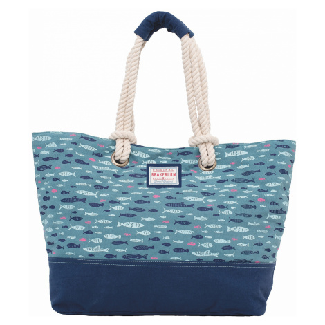 bag Brakeburn Fish Beach - Blue - women´s