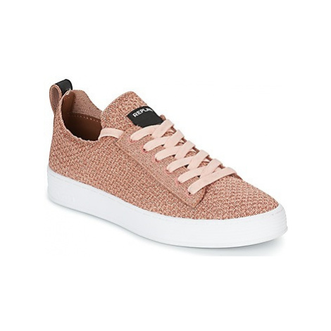 Replay DROW W women's Shoes (Trainers) in Pink