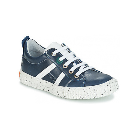 GBB HOLMAN boys's Children's Shoes (Trainers) in Blue