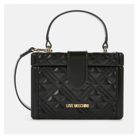Love Moschino Women's Quilted Box Bag - Black