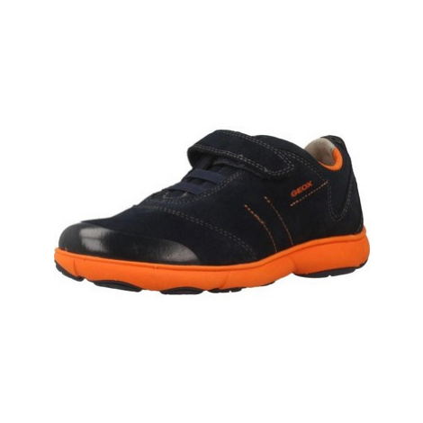 Geox J NEBULA B.A boys's Children's Shoes (Trainers) in Blue