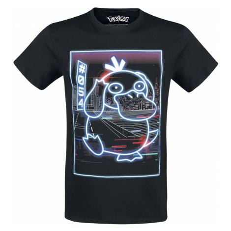 Pokémon - Psyduck - Neon - T-Shirt - black