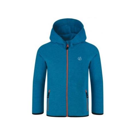 Dare 2b Enlist Full Zip Lightweight Hooded Fleece Blue boys's Children's fleece jacket in Blue