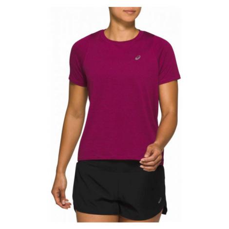 Asics TOKYO SS TOP violet - Men's running T-shirt