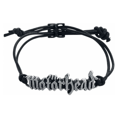 Motörhead Motörhead Logo Bracelet black