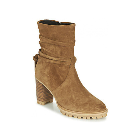 Philippe Morvan LEAST V2 CRTE VEL women's Low Ankle Boots in Brown
