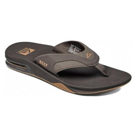 flip flops Reef Fanning - Brown/Gum - men´s