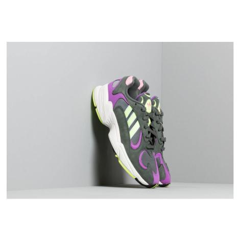adidas Yung-1 Legend Ivy/ Hi-Res Yellow/ Active Purple