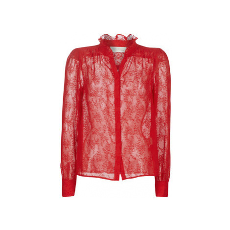 See U Soon 9921117 women's Blouse in Red