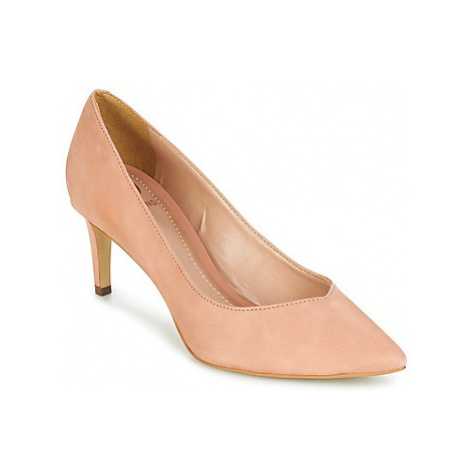 Dumond MELOCA women's Court Shoes in Beige