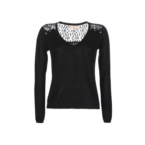 Moony Mood LOVEA women's Sweater in Black