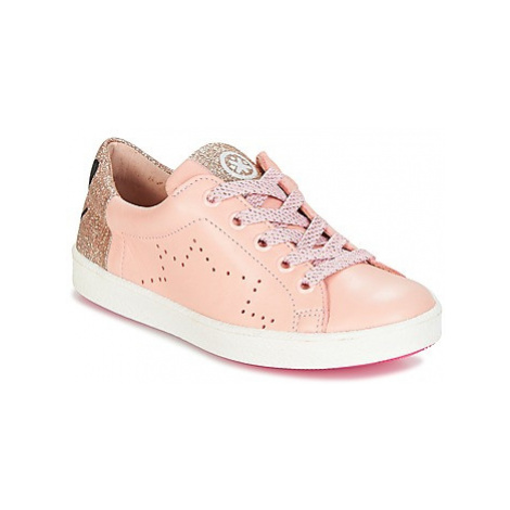 Acebo's VEMULTIT girls's Children's Shoes (Trainers) in Pink