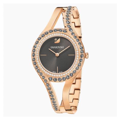 Eternal Watch, Metal bracelet, Dark grey, Rose-gold tone PVD Swarovski